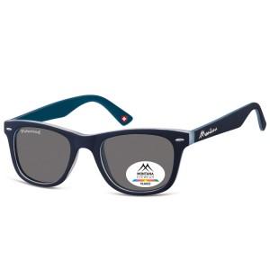 Ochelari Soare Montana Swiss Design Unisex Metal Black+blue 41