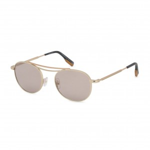 Ochelari de soare Barbati Ermenegildo Zegna model EZ0104 Galben