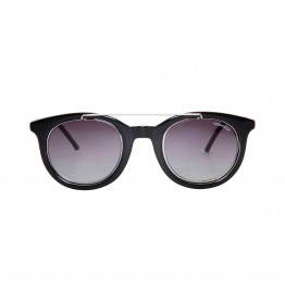 Ochelari de soare Unisex Made in Italia model SENIGALLIA Negru