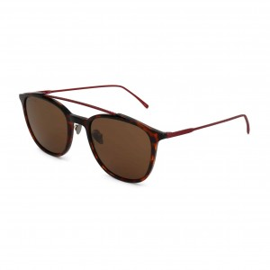 Ochelari de soare Unisex Lacoste model L880S38749 Maro